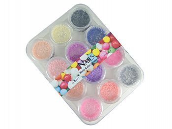 Y1CLK04-1Nails Color Beads kit 01  S